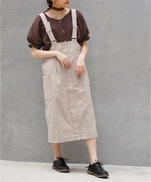 179/WG(イチナナキュウダブルジー)のコットンツイルジャンパースカート(スカート)