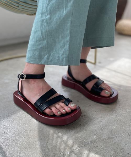【chuclla】【2021/SS】Platform strap sandal sb-6 chs107