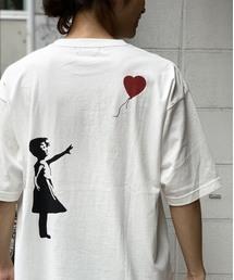 RAGEBLUE(レイジブルー)のグラフィックショートスリーブTシャツ バンクシー/833634(Tシャツ/カットソー)