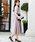 Fashion Letter(ファッションレター)の「リボンベルト付き レーススリーブドレス 謝恩会・結婚式のパーティードレス(ドレス)」|詳細画像