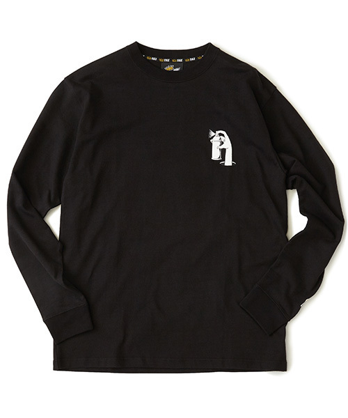 FAT(エフエイティー)の「WACKADOODLE(Tシャツ/カットソー)」 ブラック
