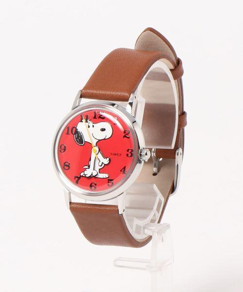 TIMEX(タイメックス)の「【TODD SNYDER×TIMEX】PEANUTS(アナログ腕時計)」|レッド