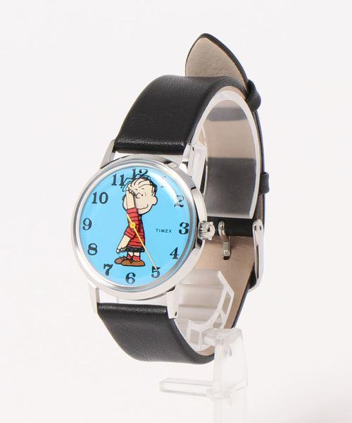 TIMEX(タイメックス)の「【TODD SNYDER×TIMEX】PEANUTS(アナログ腕時計)」|ブルー