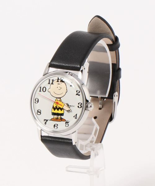 TIMEX(タイメックス)の「【TODD SNYDER×TIMEX】PEANUTS(アナログ腕時計)」|ライトグレー