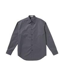 FALL2020 DRESS SHIRTチャコールグレー