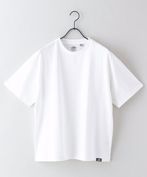 USAコットンヘビーウェイトTシャツ 5分袖 オーバーサイズ/ビッグシルエットホワイト