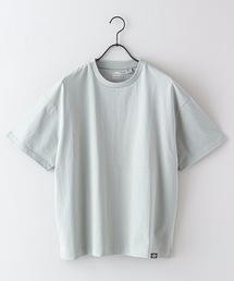 USAコットンヘビーウェイトTシャツ 5分袖 オーバーサイズ/ビッグシルエットミント