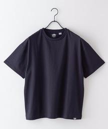 USAコットンヘビーウェイトTシャツ 5分袖 オーバーサイズ/ビッグシルエットブラック