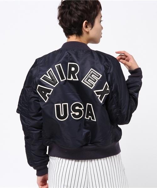 即日発送 avirex/アヴィレックス/レディース/MA-1 COMMERCIAL LOGO COMMERCIAL/MA-1 コマーシャル ロゴ(MA-1)|AVIREX(アヴィレックス)のファッション通販, スズシ:70da4ea0 --- blog.buypower.ng