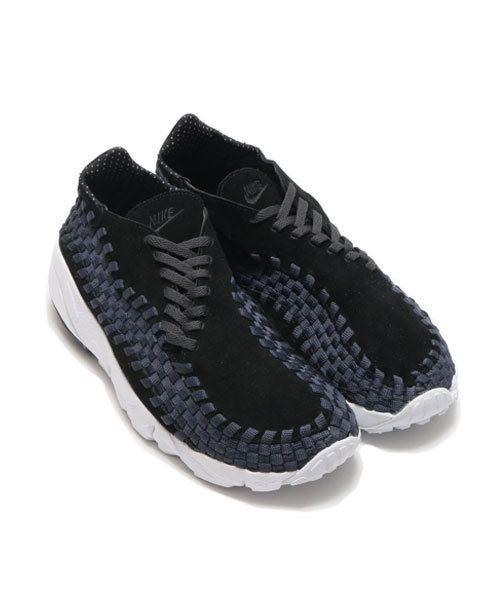 NIKE AIR FOOTSCAPE WOVEN NM (BLACK/BLACK-ANTHRACITE-WHITE) (17SP) 【SP】
