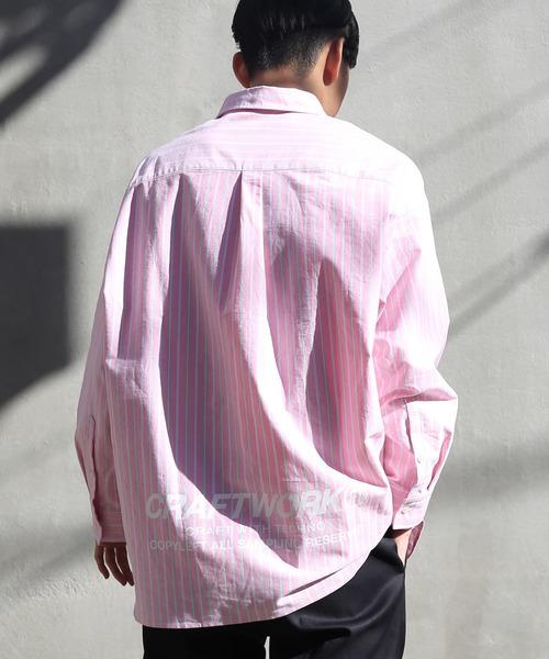 ウェルダープレートダッドシャツ /ビッグシルエット