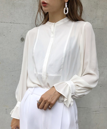 AMERI(アメリ)のLADY DRESS SHIRT(シャツ/ブラウス)
