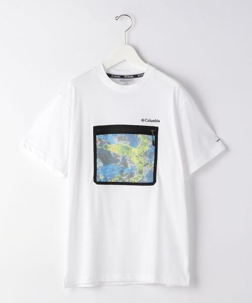 [ コロンビア ] SC Columbia メッシュ ポケット Tシャツ カットソー