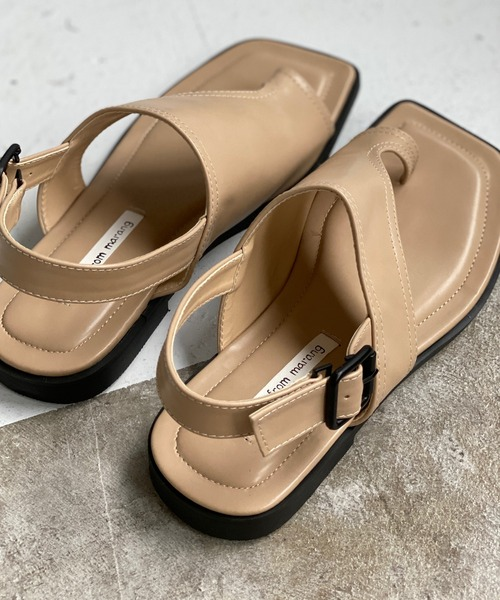 【chuclla】【2021/SS】Flat thong sandal chs110
