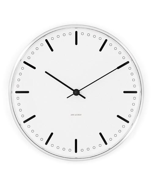 Arne Jacobsen / アルネ·ヤコブセン   Clock 43631(City Hall 210mm)