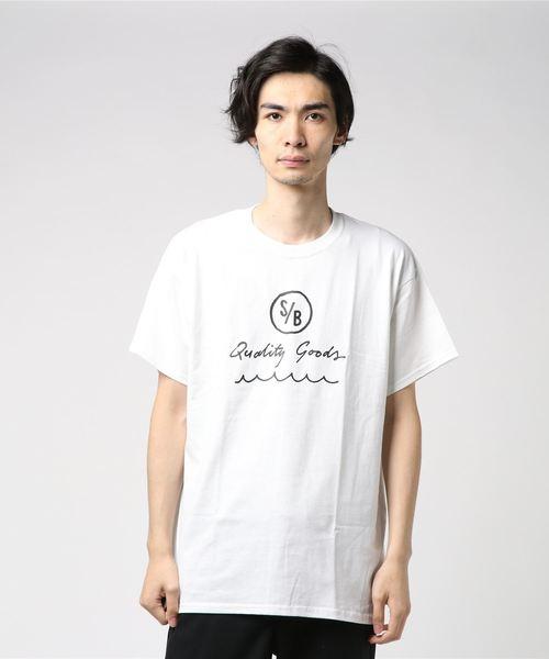 SURF/BRAND サーフブランド 'SEEK2' PRINT T-SHIRT プリントTシャツ