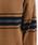 merlot(メルロー)の「ハーフジップボーダーニットプルオーバー1810(ニット/セーター)」|詳細画像