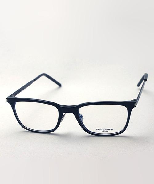 Saint Laurent(サンローラン)の「【SAINT LAURENT/サンローラン】ウェリントン メガネ SL262 001(メガネ)」|ブラック