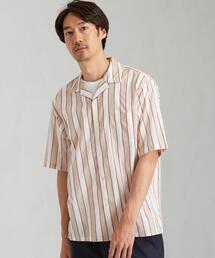 [ シドグラス ] SC SIDOGRAS オープンカラー 半袖 シャツ