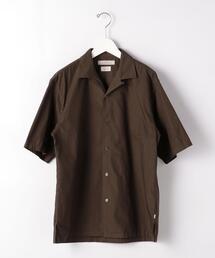 [ フード テキスタイル ] FTP FOOD TEXTILE オープンカラー 半袖 シャツ