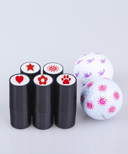 ゴルフボールスタンプ ボールマーカー 5点セット 5種類1セット