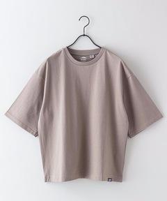 USAコットン7分袖Tシャツ オーバーサイズ/ビッグシルエット