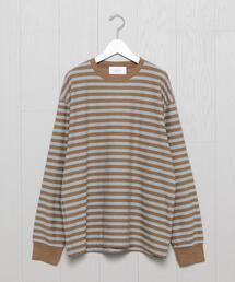 <UNUSED>BORDER LONG SLEEVE T-SHIRT/Tシャツ.