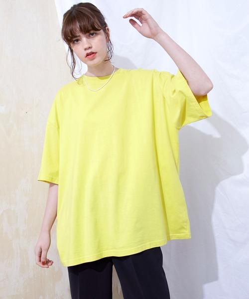 スーパービッグシルエットカットソー 1/2 sleeve cotton 100% 2020summer