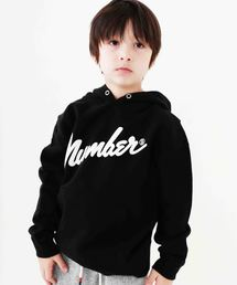 NUMBER (N)INE(ナンバーナイン)の【NUMBER (N)INE】≪別注≫kids キッズ ロゴパーカー(パーカー)