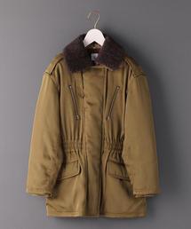 6(ロク)の「<6(ROKU)>BOA COLLAR ZIP COAT/コート(ミリタリージャケット)」