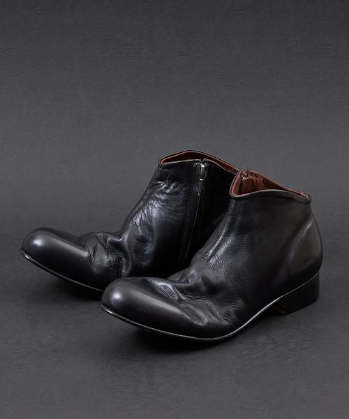 人気ブランド SIDE ZIP PADRONE SHORT BOOTS ZIP BOOTS -VIANT LIMITED-(ブーツ)|PADRONE(パドローネ)のファッション通販, リーベンマルクト:ae2e8387 --- steuergraefe.de