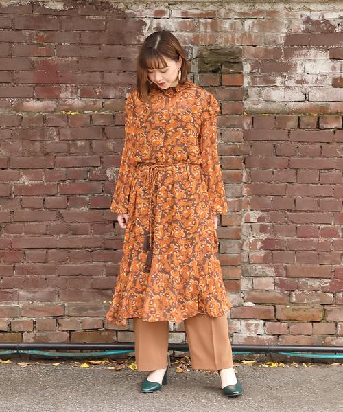 贅沢 【セール】PAISLEY HIGH HIGH NECK ONP(ワンピース)|ROSE セール,SALE,ROSE NECK BUD(ローズバッド)のファッション通販, JAアオレン:6522b733 --- 5613dcaibao.eu.org
