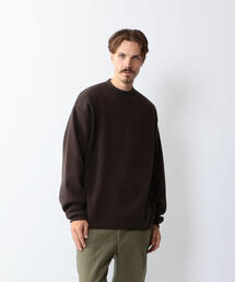 <Steven Alan> MLN MOCK NECK KNIT-LOOSE/ニット