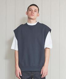<H>HEAVY SWEAT NO SLEEVE PULLOVER/スウェット