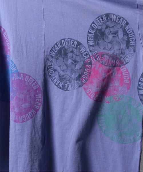PULP/417EDIFICE(パルプフォーワンセブンエディフィス)の「【SOMEWARE / サム?ウェア】 NEW FLOWER CIRCLE(Tシャツ/カットソー)」|詳細画像