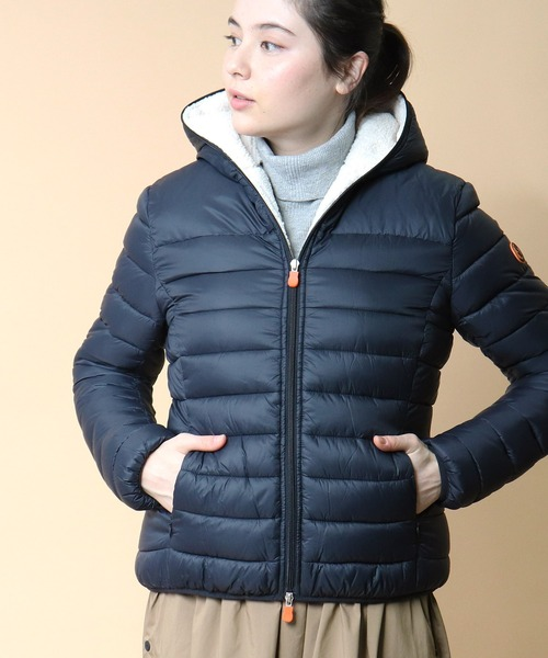 【 Save the duck / セーブ ザ ダッグ 】Icons Quilted Jacket アイコンズ キルテッド ジャケット  D3969W TJN・・