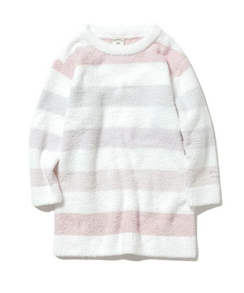 【KIDS】'ベビモコ'5ボーダー kids ドレス