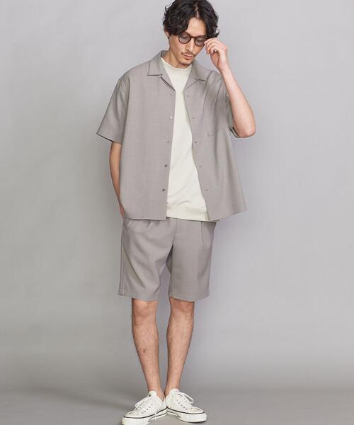 【WEB限定】by パナマシャツ&ショートパンツ セットアップ