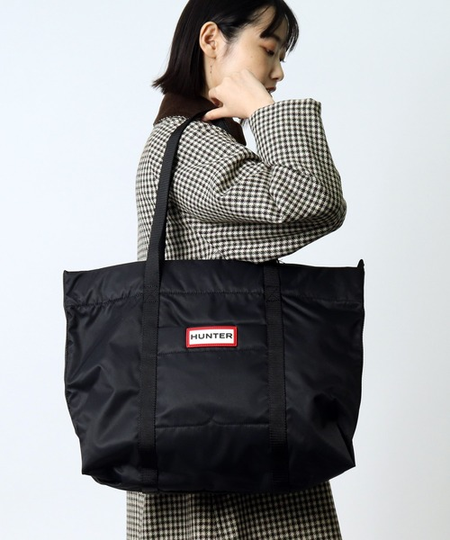 【HUNTER/ハンター】ORIGINAL NYLON TOTE UBS6004KBM HUT