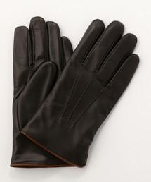 MEN'S MELROSE(メンズメルローズ)のスマホ対応レザーグローブ(手袋)