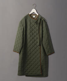 <6(ROKU)>QUILTED COAT OLIVE/コート