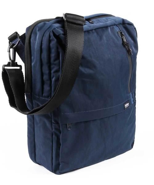 【Healthknit Product】撥水ナイロン11ポケットガジェットショルダーバッグ