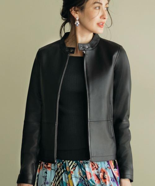 豪華で新しい 柔らかラムレザーブルゾン(ブルゾン)|Ranan(ラナン)のファッション通販, BEBE SHOP:6062fa1c --- skoda-tmn.ru