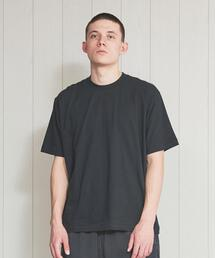 <H>SOFT CREW NECK T-SHIRT/Tシャツ