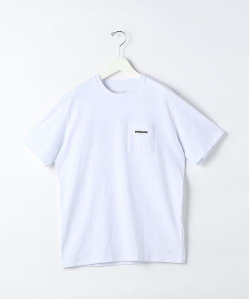 [ パタゴニア ] ★ patagonia P-6 ロゴ ポケット レスポンシビリティー Tシャツ
