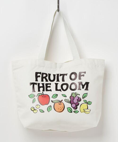 【 FRUIT OF THE LOOM / フルーツオブザルーム 】 SOUVENIR ST TOTE M