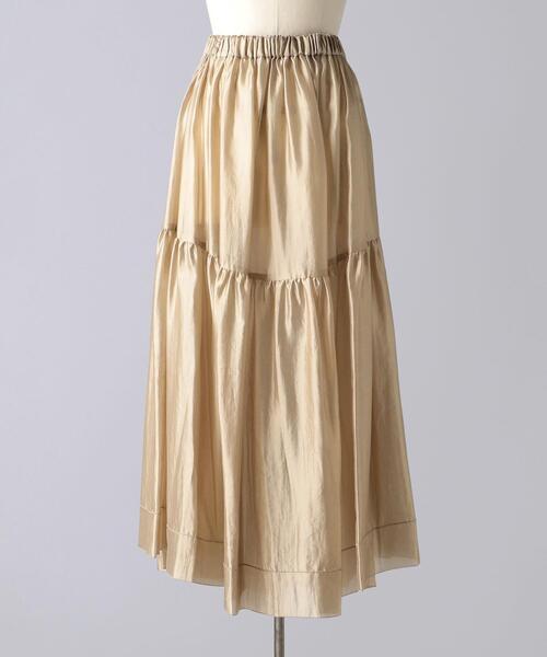 < BLAMINK(ブラミンク)> F SI GATH LONG スカート