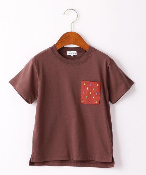 〔吸水速乾〕シズクシシュウポケットTシャツ
