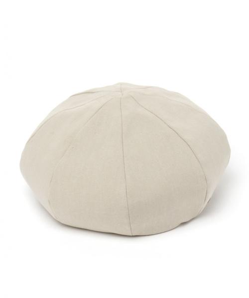 studio CLIP(スタディオクリップ)の「布帛ベレー(ハンチング/ベレー帽)」 ベージュ