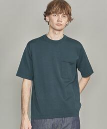 BY シルクコットン 1POC Tシャツ